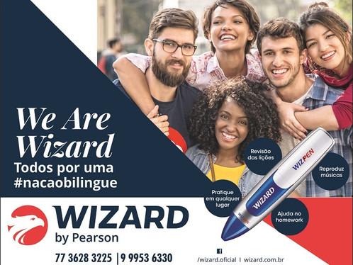 Wizard, todos por uma #nacaobilingue