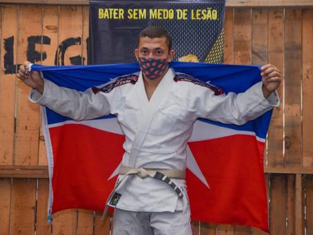 Campeão do Pan-Americano vai disputar Campeonato Brasileiro de Jiu-Jitsu no Rio de Janeiro