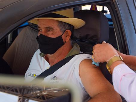 COVID-19: Quase mil pessoas foram vacinadas entre ontem e hoje em Luís Eduardo Magalhães