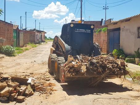 'Minha Rua Limpa': Em quatro dias foram recolhidas mais de 220 toneladas de entulho