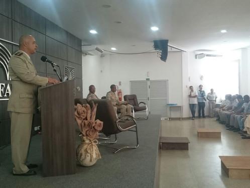 Cerimônia marca passagem de comando na PM de LEM - veja fotos
