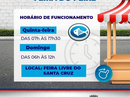 Feira do Santa Cruz abre nesta quinta-feira (01) para comercialização de itens para almoço de Semana