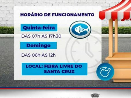 Feira do Santa Cruz abre nesta quinta-feira para comercializar  itens para almoço de Semana Santa