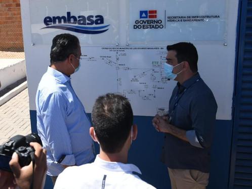 Obras de saneamento são entregues em Luís Eduardo Magalhães pelo governo do Estado