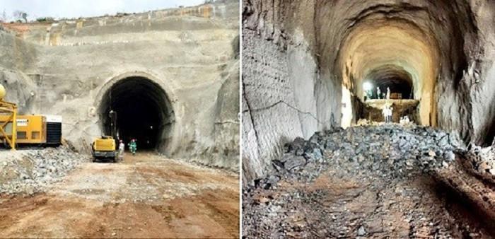Túnel localizado em Jequié com 780m de comprimento | Fotos: Valec