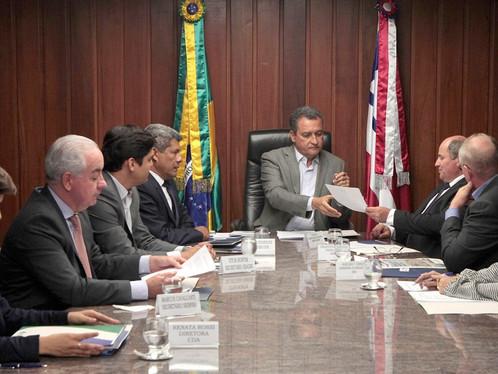 Representantes do agronegócio se reúnem com o governador Rui Costa