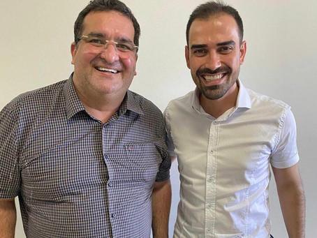 Deputado e prefeito viabilizam com o Governo do Estado projeto para implantação do Aeroporto de LEM