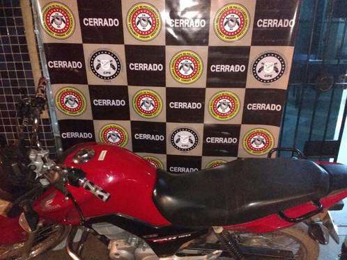 Cipe - Cerrado recupera Motocicleta Roubada em LEM
