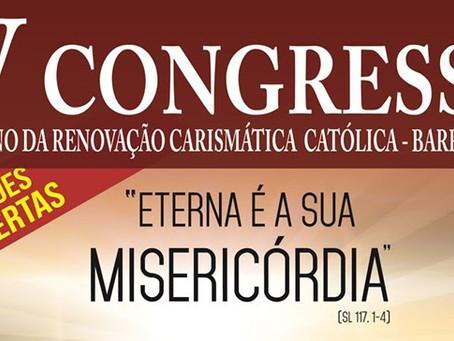IX Congresso Diocesano da RCC Católica de Barreiras acontecerá em novembro