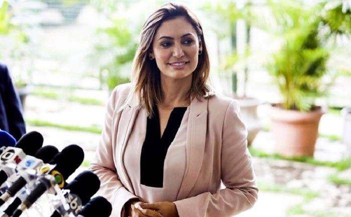 A primeira-dama Michelle Bolsonaro concede entrevista, em Brasília, após as eleições – José Cruz/Agência Brasil