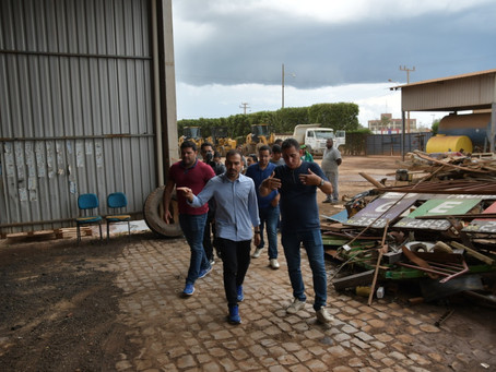 Junior Marabá inicia mutirão de limpeza no bairro Conquista e segue por toda cidade
