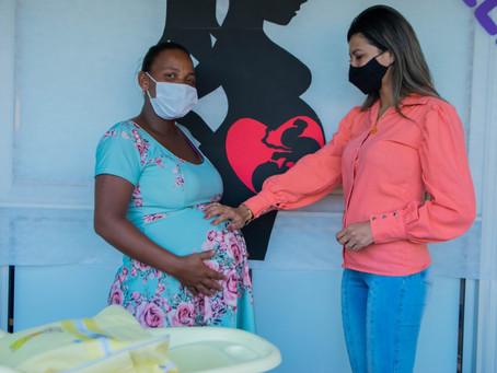 Programa 'Nascer Feliz' promove palestra e a entrega de kit gestantes