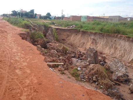 Prefeitura notifica Embasa e diz que prepara projeto para recuperação de área no Santa Cruz