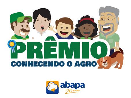 Abapa abre inscrições para Prêmio Conhecendo o Agro 2020