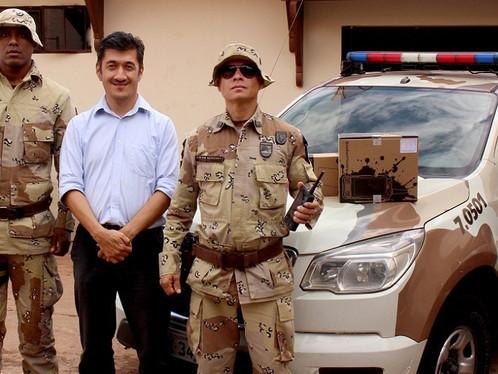 Prefeitura de Luís Eduardo Magalhães entrega rádios comunicadores para a CIPE Cerrado
