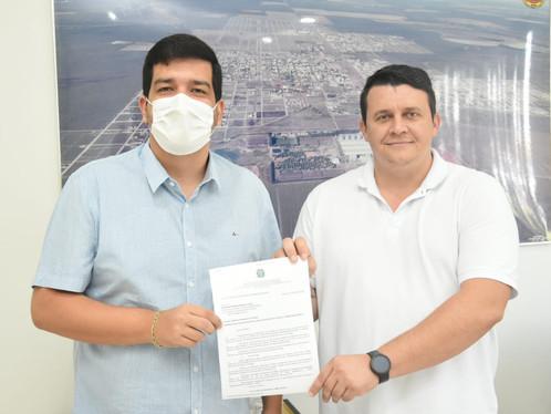 Luís Eduardo adere ao Titula Brasil, Programa de regularização fundiária