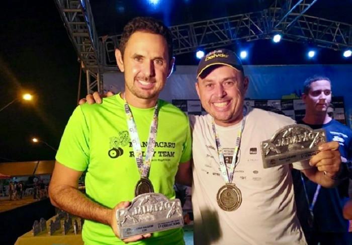 Montani e Bisi: Campeões do 5o Rally do Jalapão (UTV SProduction) (Divulgação)