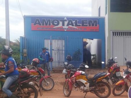 Associação de Mototaxistas é assaltada no Bairro Floráis Léa
