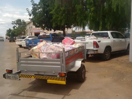 LEM:  PM prende ambulantes que vendiam travesseiros 'recheados' com fraldas usadas , veja