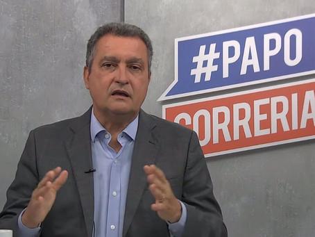 Governador Rui Costa anuncia retorno das aulas presenciais