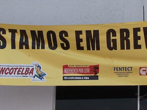 LEM: Funcionários dos Correios estão em greve