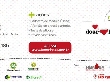 Cooperativas de Luís Eduardo Magalhães se unem e organizam campanha de doação de sangue