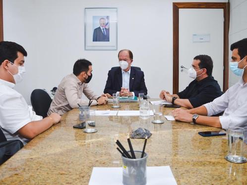 Junior Marabá e secretário de Governo, Danilo Henrique cumprem agenda institucional em Salvador