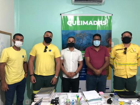 Luís Eduardo Magalhães inicia as tratativas para implantar a Brigada Municipal de Combate a Incêndio