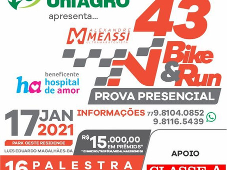 43 Bike Run - Prova presencial