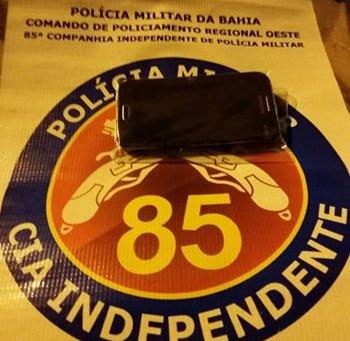 PM recupera celular roubado no centro de LEM