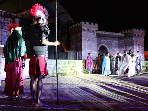 Espetáculo Paixão de Cristo será realizado pela oitava vez em LEM, entrada é gratuita