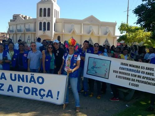 Greve geral também tem manifestação em Luís Eduardo Magalhães