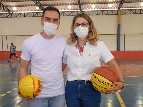 Prefeito de LEM anunciou nomeação da diretora de Esporte, Vânia Cenci, como Secretária da pasta