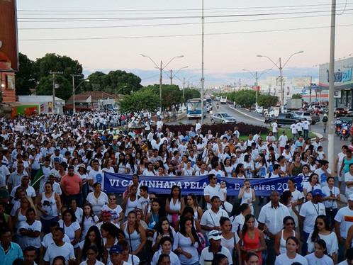 Barreiras: VII Caminhada da Paz será realizada no próximo dia 10 de fevereiro