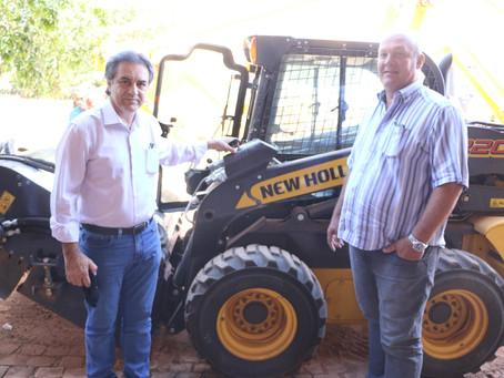 Novas máquinas vão acelerar os serviços da prefeitura de Luís Eduardo Magalhães