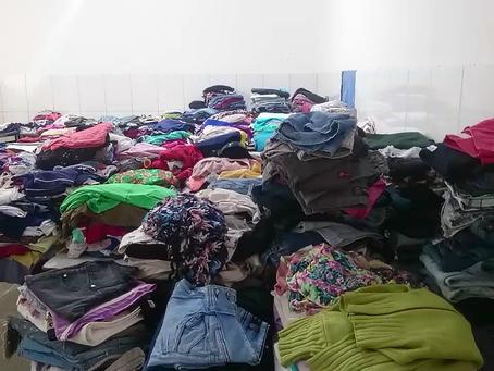 Solidariedade: Após enchente moradores de LEM lotam escola com doações, saiba como ajudar