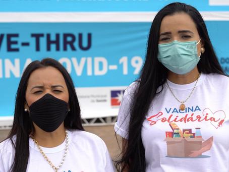 Vereadoras de LEM lançam campanha solidária para arrecadação de alimentos