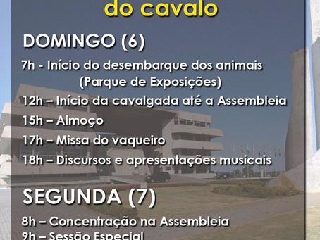 Cavalgada em Salvador abre programação de mobilização a favor dos esportes equestres