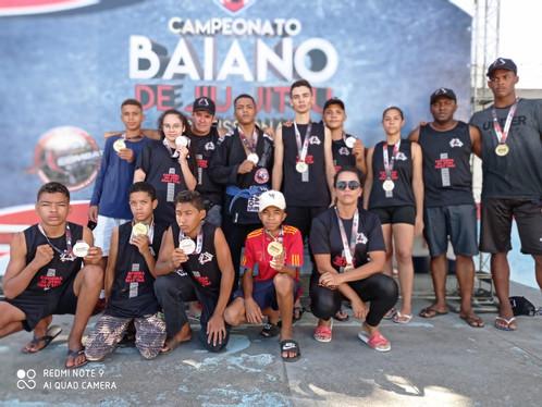 Atletas de Luís Eduardo Magalhães se destacam no Campeonato Baiano de Jiu-Jitsu na capital baiana