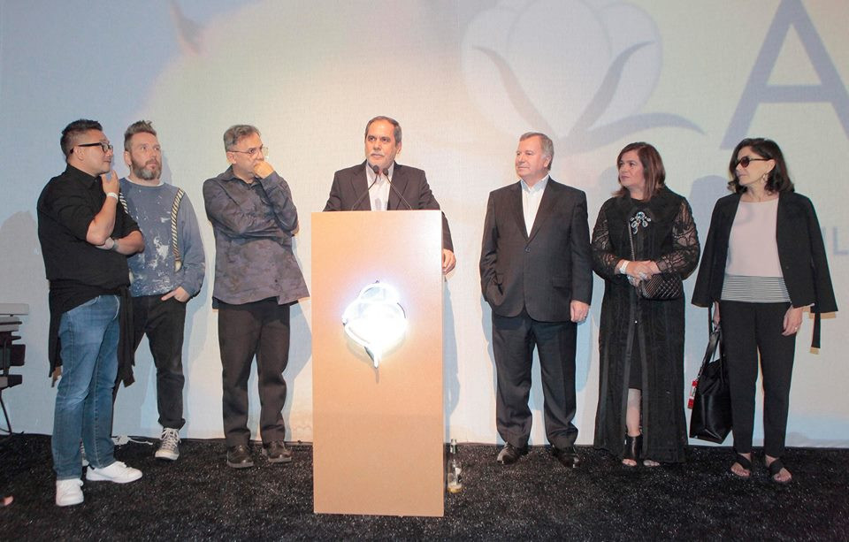 O Presidente da Abrapa, João Carlos Jacobsen, discursa durante o Lançamento
