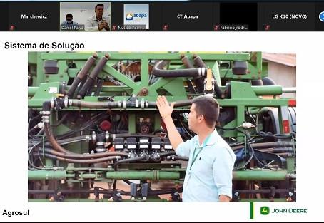 Abapa e Agrosul realizam capacitação onlinesobre máquinas e pulverização agrícola