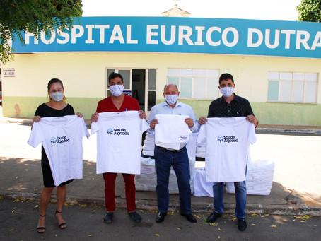 Abapa promove doação de camisetas e toalhas 100% algodão para apoio ao enfrentamento à Covid