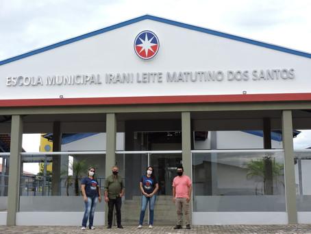LEM: Equipe da Educação visita nova sede do anexo do José Cardoso de Lima