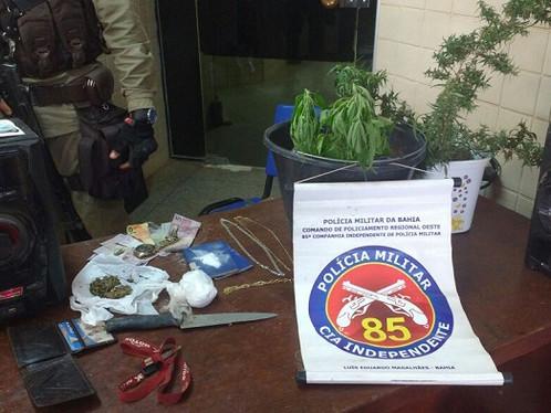 85ª CIPM prende acusados de roubo no Mimoso III