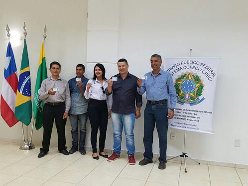 12° Delegacia do CRECI de LEM entrega carteiras para novos corretores de imóveis
