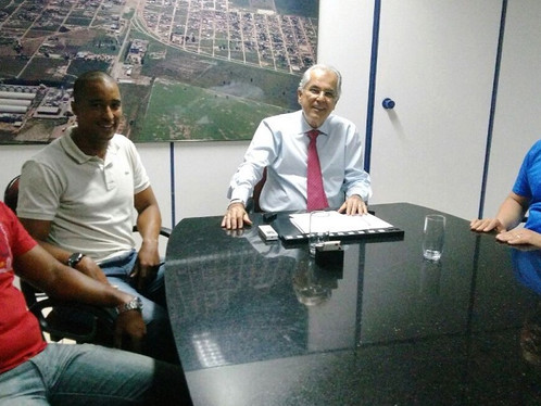 Prefeito Humberto Santa Cruz recebe visita de cortesia do comandante da 85ª CIPM