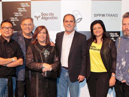 Produtores de algodão da Bahia participam do lançamento da 'Campanha Sou De Algodão' no São Paulo Fa