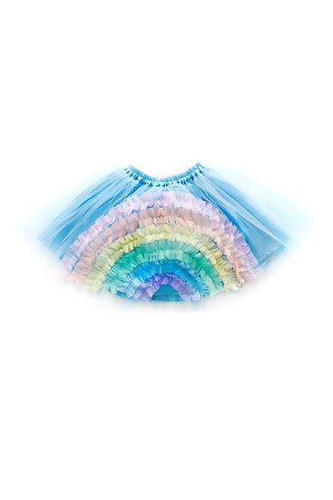 Lemonade Bubbles Light Blue Rainbow Tutu