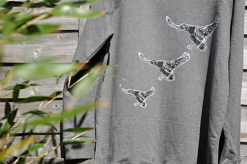PRP Women's Scoop Neck Sweatshirt (Ducks WB)
