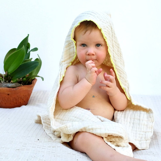 Pure & Dimple Hooded Towel